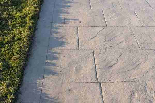 Stamped Concrete Driveway in Ventura